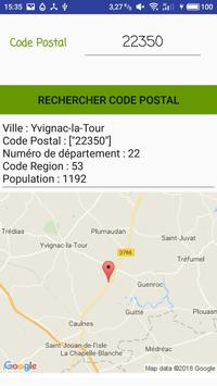 Code Postal screenshot 2