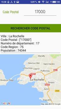 Code Postal screenshot 3