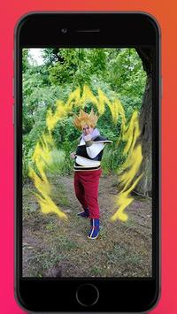 Saiyan Heros Camera Style apk screenshot
