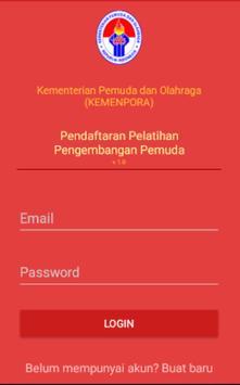 KEMENPORA - Pengembangan Pemuda Online screenshot 2