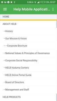 Helb Website App screenshot 3