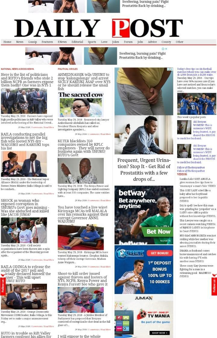 Kenyan Daily Post: Breaking and Latest News for Android