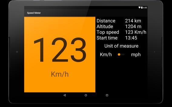 Speed meter apk screenshot