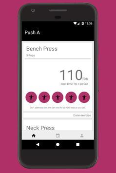 Push Pull Legs screenshot 1