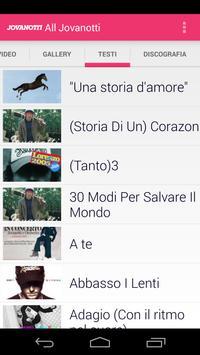Jovanotti Lorenzo Cherubini apk screenshot