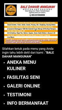 BALE DHAHAR MANGUNAN YOGYA poster