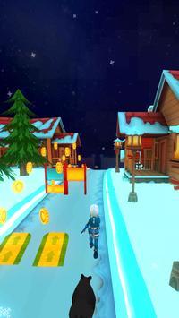 Frozen Princess World Run screenshot 3