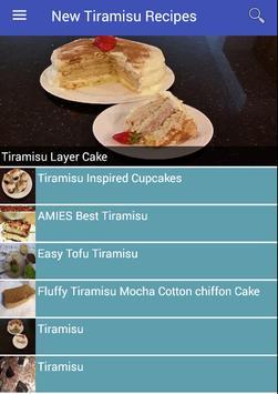 New Tiramisu Recipes poster
