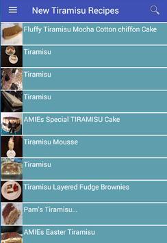 New Tiramisu Recipes apk screenshot