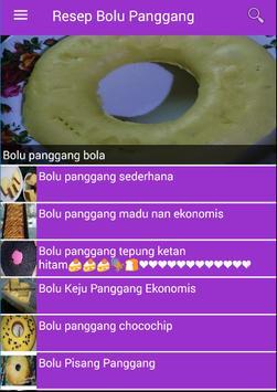 Resep Bolu Panggang poster