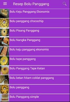 Resep Bolu Panggang apk screenshot