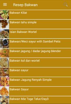 Resep Bakwan screenshot 1