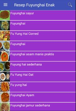 Resep Fuyunghai Enak apk screenshot