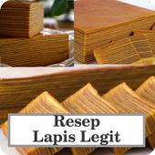 Resep Lapis Legit Unak icon