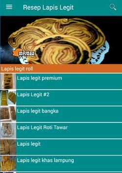 Resep Lapis Legit poster