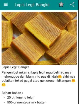 Resep Lapis Legit Unak apk screenshot