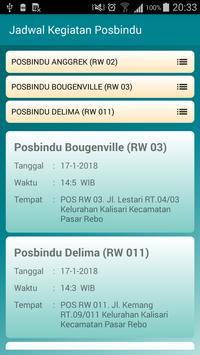 Posbindu Kalisari screenshot 2