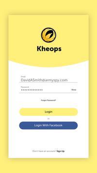 Kheops poster