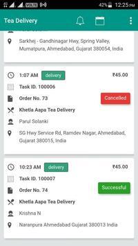 Tea Delivery screenshot 2