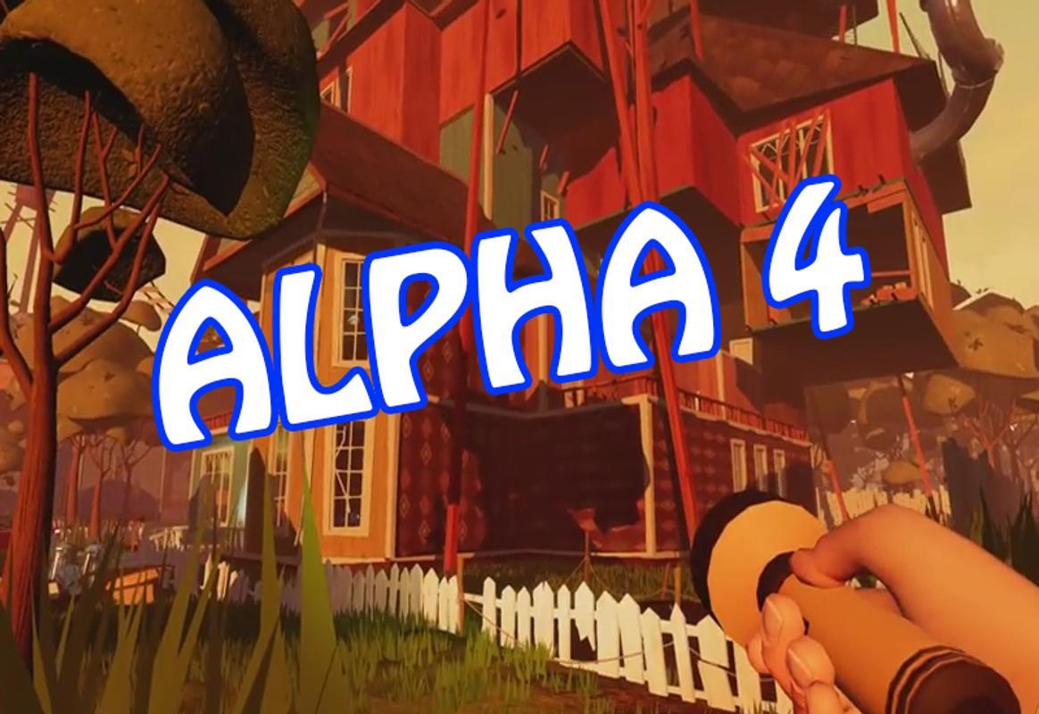 how do you download hello neighbor alpha 1