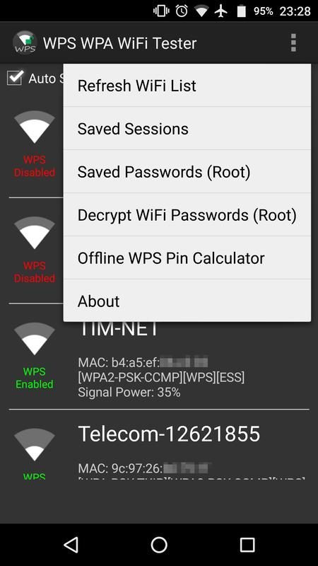 How to use wps pin to get wpa password
