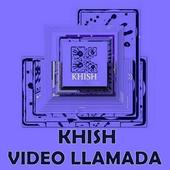 KHISH Video llamada y chat icon
