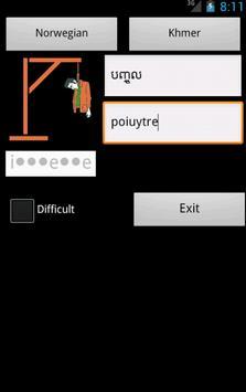 Khmer Norwegian Dictionary apk screenshot