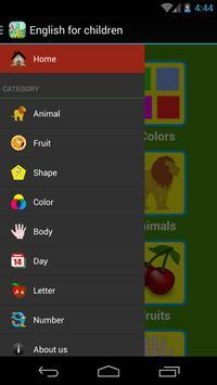 English for Children apk screenshot
