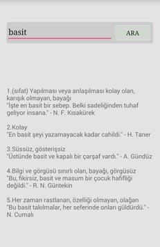 Tdk Türkçe Sözlük poster