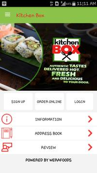 Kitchen Box apk screenshot