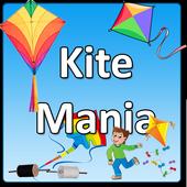 Kite mania for kites lover icon
