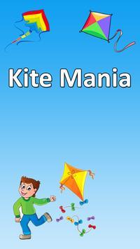 Kite mania for kites lover poster