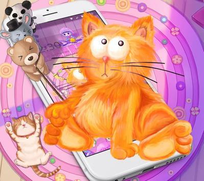 Kitten Anime Wallpaper poster