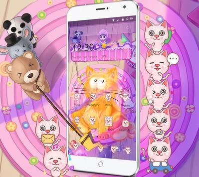 Kitten Anime Wallpaper screenshot 1