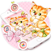 Kitten Anime Wallpaper icon