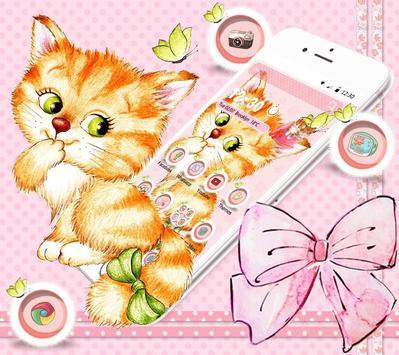 Kitten Anime Wallpaper screenshot 4