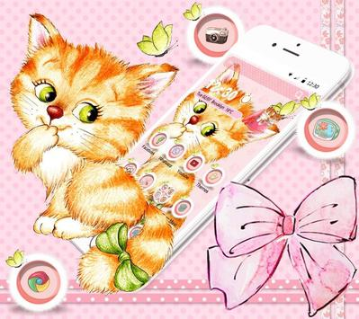 Kitten Anime Wallpaper screenshot 7