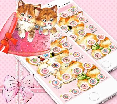 Kitten Anime Wallpaper screenshot 8