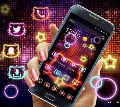 Neon Kitty Wallpaper & Icons screenshot 7
