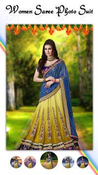 Women Fashion Saree Photo Suit screenshot 4
