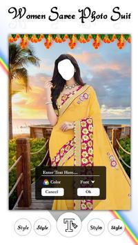 Women Fashion Saree Photo Suit screenshot 5