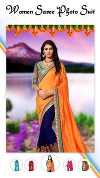 Women Fashion Saree Photo Suit screenshot 1