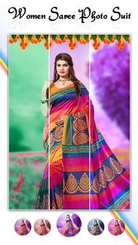 Women Fashion Saree Photo Suit screenshot 2
