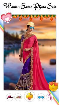 Women Fashion Saree Photo Suit screenshot 3