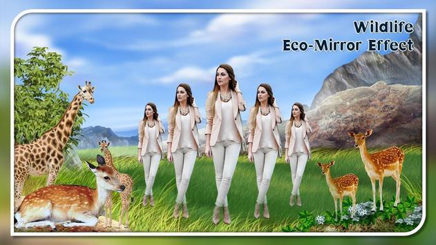 Wild Life Echo Magic Mirror Photo Effect Camera screenshot 1