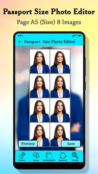 Passport Size Photo Maker : ID Proof Photo Editor screenshot 3