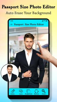 Passport Size Photo Maker : ID Proof Photo Editor poster