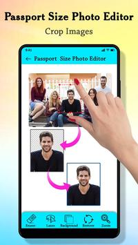 Passport Size Photo Maker : ID Proof Photo Editor screenshot 1