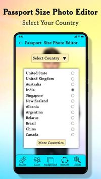 Passport Size Photo Maker : ID Proof Photo Editor screenshot 4