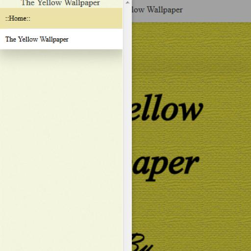 The Yellow Wallpaper By Charlotte Perkins Gilman For